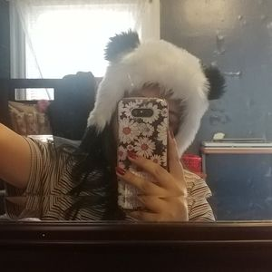 Cozy fun panda hat